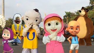 Upin ipin dan Masha and the Bear