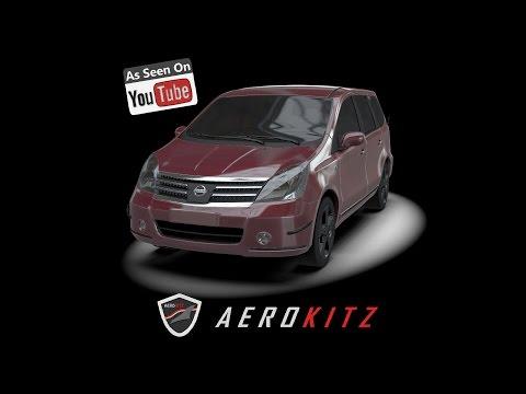 Aerokitz, Aksesoris Modifikasi Nissan Grand Livina (Classy Style)