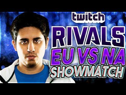 2nd Game of Twitch Rivals: EU vs. NA Showmatch - League of Legends