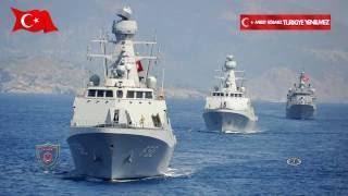 أنتجت في تركيا .. السفن الحربية .. حايبالىآضآ و بويوكآضآ .. القوات البحرية التركية