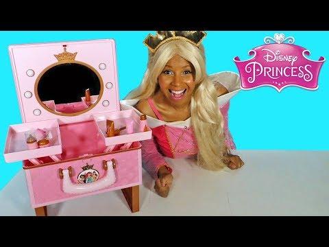 Disney Princess Aurora Style Collection Travel Vanity