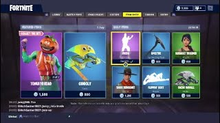 Buying New TomatoHead Skin & Axeroni Pickaxe - Fortnite Battle Royale