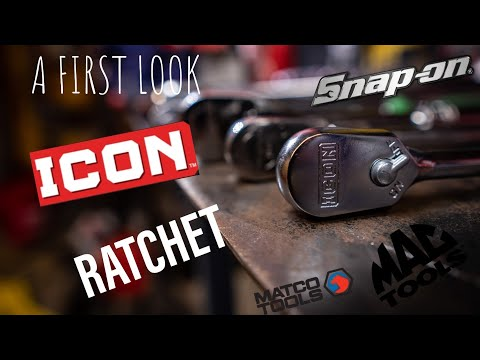ICON Tool Ratchet Review From Harbor Freight Tools