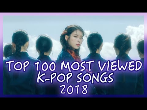 [TOP 100] MOST VIEWED K-POP SONGS OF 2018 | OCTOBER