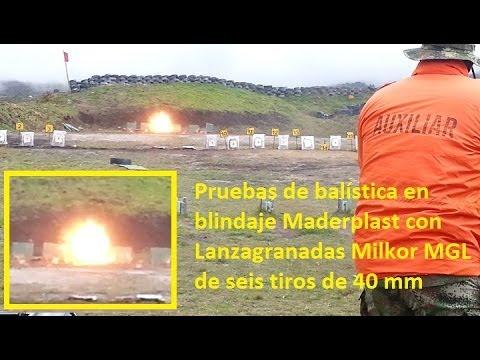 Pruebas Maderplast para Fuerzas Militares