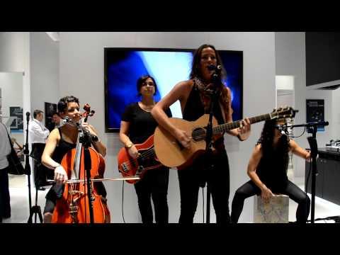 NAMM 2013 - Raining Jane Perform