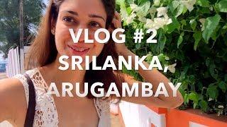 Vlog #02 Srilanka, Arugambay, Surfing, Srilankan Cooking Class