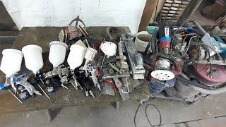 Основные инструменты для ремонта и покраски авто и не только