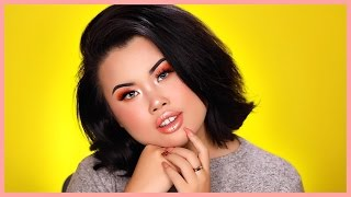 NIKKIETUTORIALS DOING MY MAKEUP! | Kim Thai