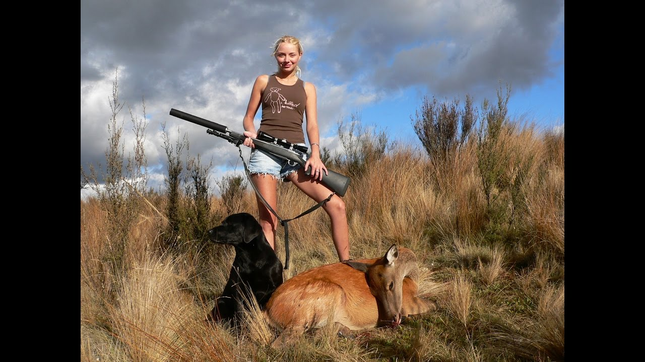 Hottest woman in hunting