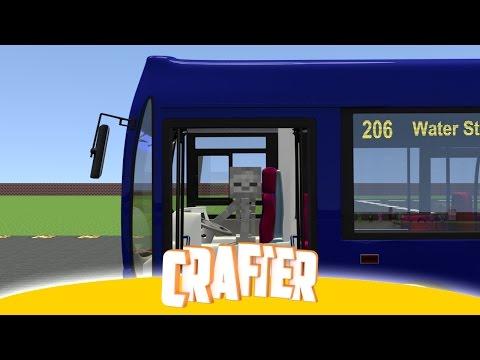 Monster School: Bus Parking - Minecraft Animation