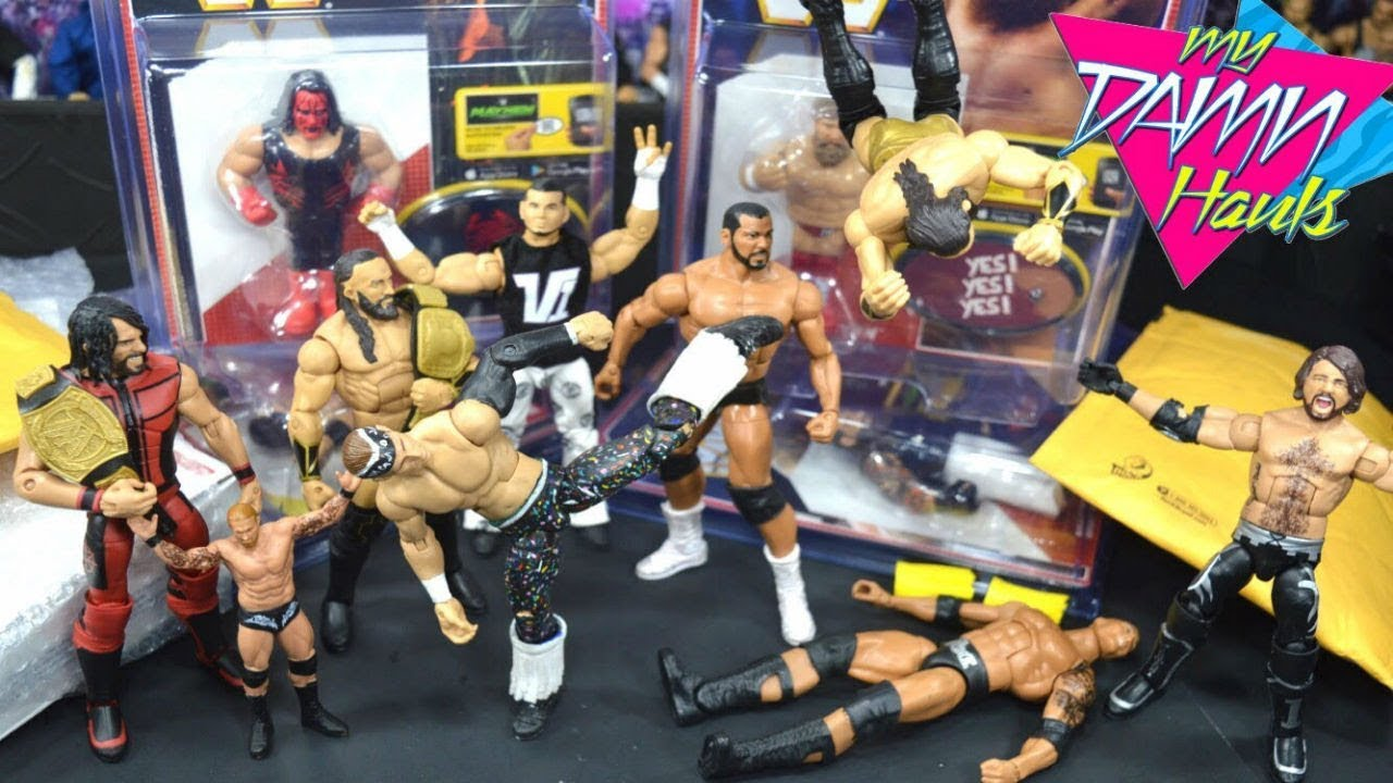 UNBOXING EPIC WWE FIGURES! + FANMAIL!