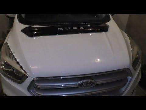 Дефлектор капота на Ford Kuga 2017