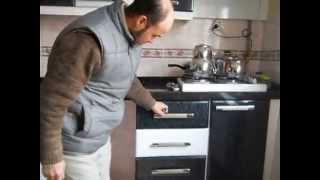 Mutfak Dolabı Mebran Kapak ÇAGRI DEKORASYON