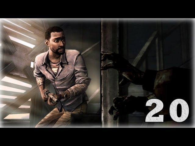 Смотреть прохождение игры The Walking Dead: Episode 5. Серия 20 - Время на исходе.