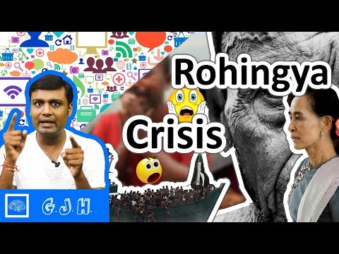 Myanmar's rohingya refugees crisis. Reasons behind this problem and why things getting worse (Hindi)