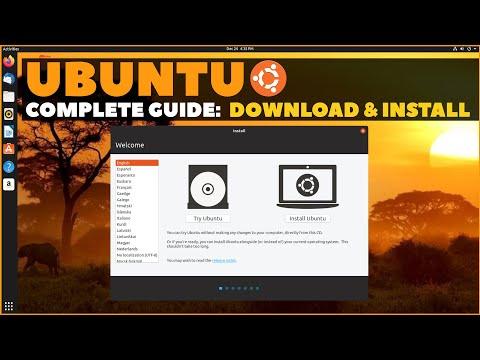 Ubuntu Complete Beginner's Guide 2020: Download & Installing Ubuntu