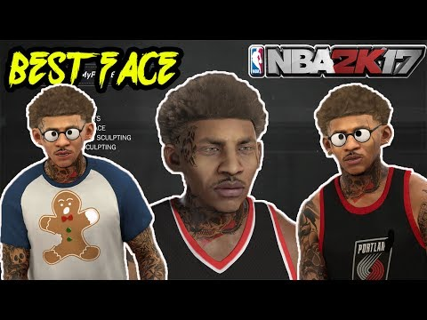 BEST FACE CREATION!!! HOW TO LOOK LIKE A DRIBBLE GOD CHEESER! BECOME A GOD IN NBA 2K17!