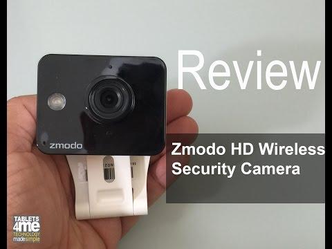Zmodo Mini WiFi 720p HD Wireless Indoor Home Video Security Camera