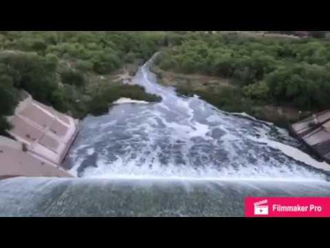Dam at Buffalo Springs Lake Lubbock, Texas