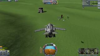 KSP Trip to Inland Space Center | Linux Gameplay
