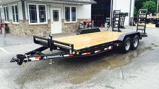 Norstar Ironbull Equipment Trailer 7x18 9990# GVW