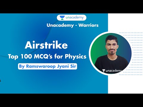 AIRFORCE 2020 | Top 100 MCQ's For Physics | Airforce X & Y Group