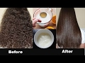 Permanent Hair Straightening at Home in 30 Minutes  with all Natural Ingredients | 100% Work  | NAHR