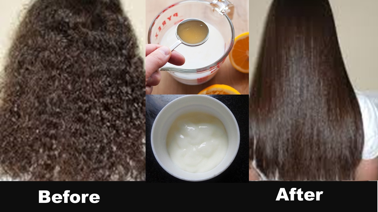 Permanent hair straightening at home in 30 minutes with all natural permanent hair straightening at home in 30 minutes with all natural ingredients 100 work nahr solutioingenieria Images