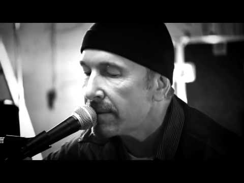 U2  The Edge Running To Stand Still Acoustic Version