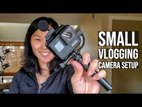 Cheap and Compact GoPro Hero 7 Black Vlogging Setup with Sample Footage (Part 1)