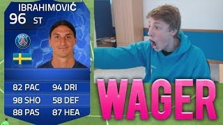HOLY S**T!! - TOTY IBRAHIMOVIC WAGER - FIFA 14 Ultimate Team Team Of The Year