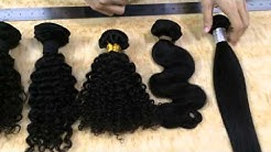 Wholesale Virgin Hair Review: Style Deep wave, curly, body wave, Straight, loose wave, natural wavy