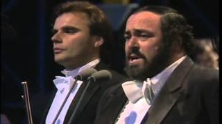 ANDREA GRIMINELLI LUCIANO PAVAROTTI - HYDE PARK LONDON - 1991 - NON TI SCORDAR DI ME (De Curtis)