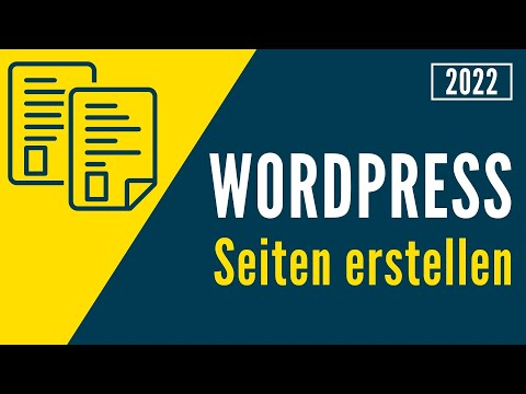 WordPress-Seiten erstellen