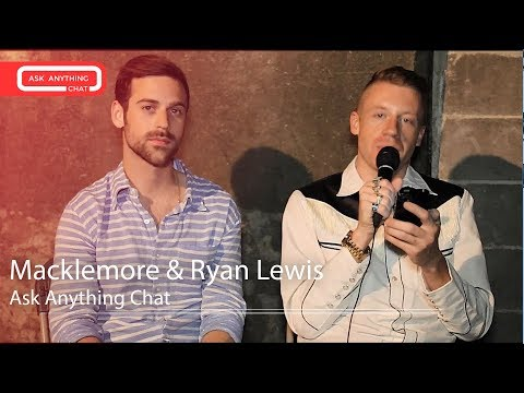 Macklemore and Ryan Lewis Answer Fan Questions On Ask Anything Chat w/ Romeo ​​​ - AskAnythingChat