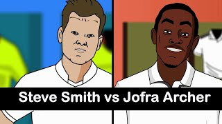 Ashes 2019 Steve Smith vs Jofra Archer