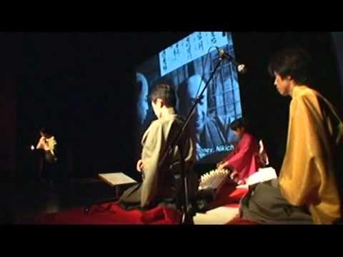 OTOWAZA and Benshi narration in Japanese silent film 和楽器と弁士の無声映画上映会