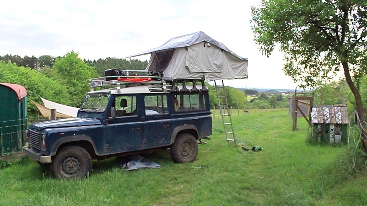 Dachzelt Gebraucht : Dae wir montieren endlich unser dachzelt it at