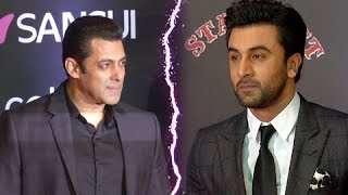 Ranbir Kapoor Walks Off On Salman Khan's Entry  Sansui Colors Stardust Awards 2016