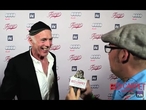 "Michael Hogan ""Otto Gerhardt""at FX's Fargo Red Carpet Premiere Event #FargoFX"