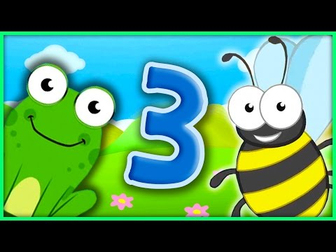The Number 3 | Number Songs By BubblePopBox | Learn The Number Three