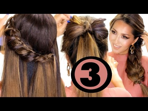 3-cute-summer-hairstyles-made-easier-for-you-★-easy-hairstyles-|-makeupwearables