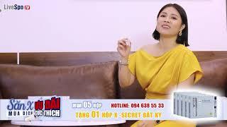 MC Hoàng Linh - Chúng tôi là chiến sỹ chia sẻ hiệu quả của LiveSpo X-Secret sau khi sử dụng