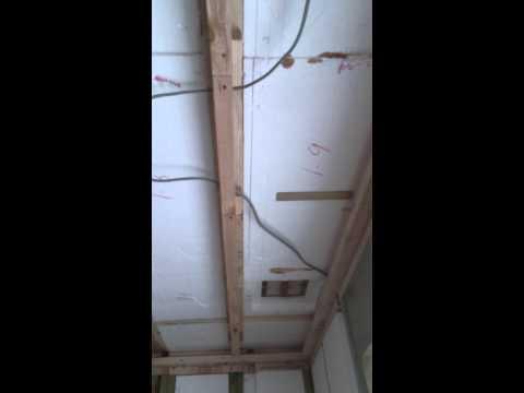 上棟直後の雨漏り