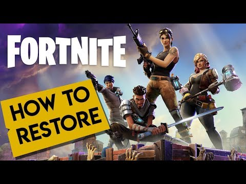 Fortnite | How To Restore Or Copy FORTNITE To Another PC!!! 2019