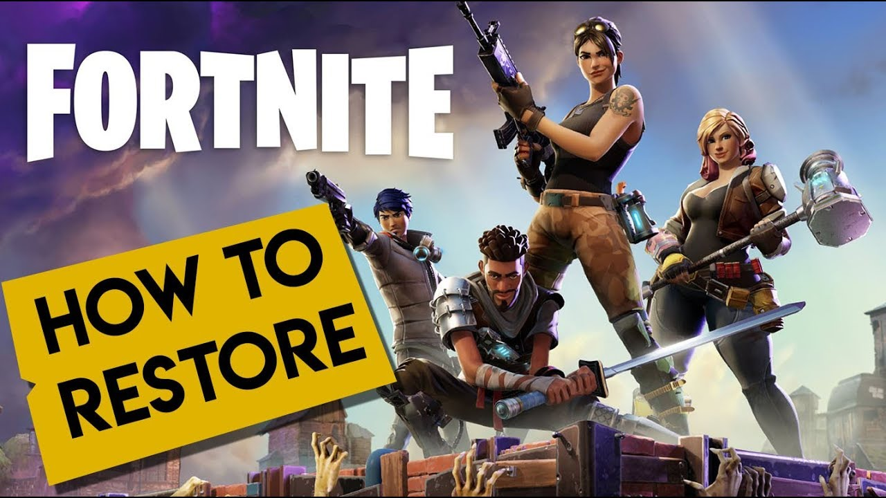 fortnite how to restore or copy fortnite to another pc 2019 - copy fortnite to another pc