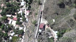 [x4] El recorrido completo Tren Chepe en Témoris #2 28/Apr/2014メキシコ鉄道テモリス全景Whole view Chepe, Temoris