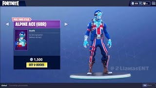 IS THE NEW ALPINE ACE SKIN WORTH IT *CRAZY* (FORTNITE BATTLE ROYALE )