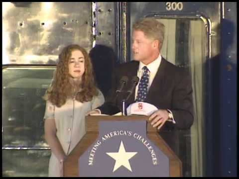 President Clinton's Whistle Stop Event in Bowling Green, Ohio